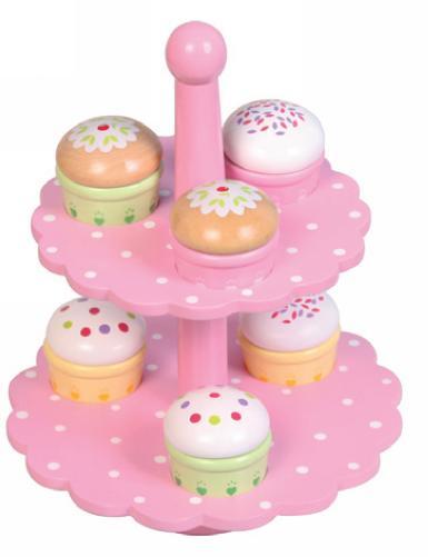 Wooden Cupcakes Melissa Doug Bake Decorate Cupcake Set Pretend
