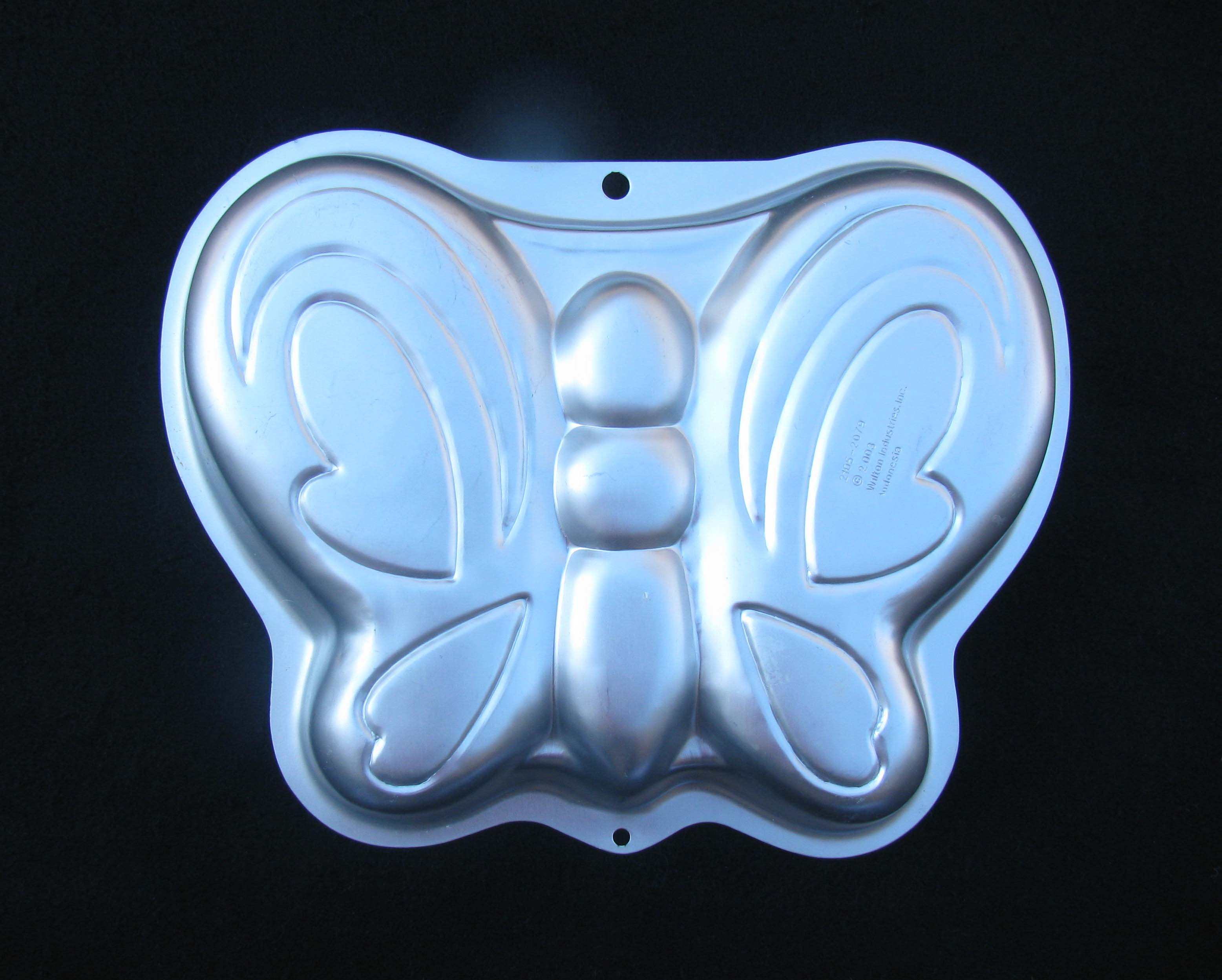 Butterfly Cake Pan Wilton Aluminum Butterfly Cake Pan