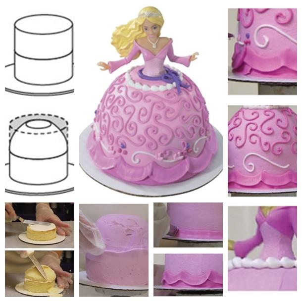Barbie Princess Cake Decorating Directions Bitly 1lpr0WE