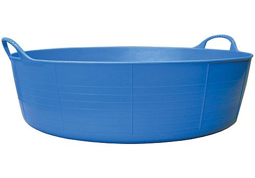 Big Plastic Tubs Homz Plastic Utility Tub With Rope