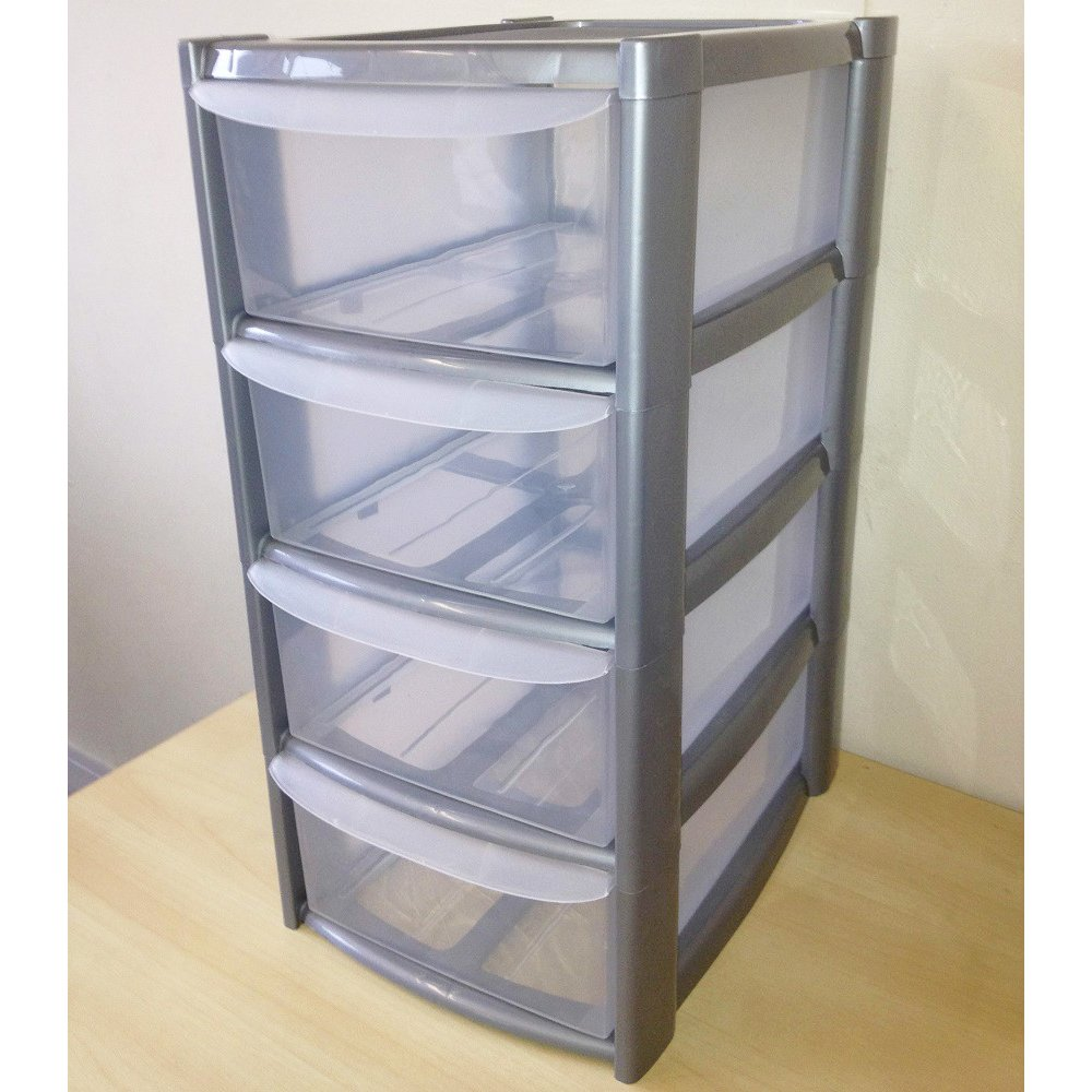 Plastic Containers With Drawers Sterilite 17918004 3