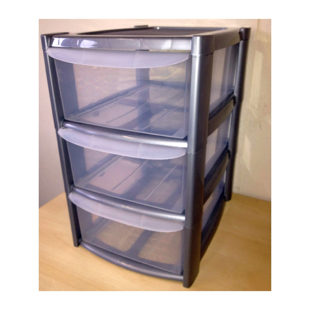Plastic Containers With Drawers Sterilite 29308001 Wide 3