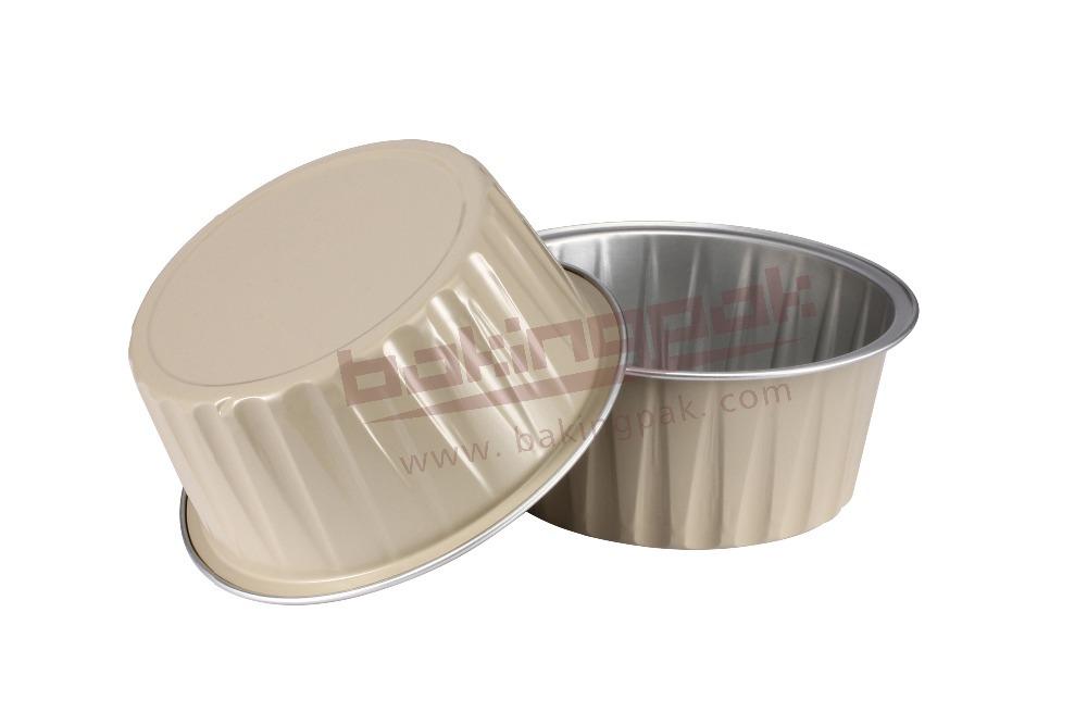 Aluminum Baking Cups Dobi Ramekins 100 Pack 4 Oz
